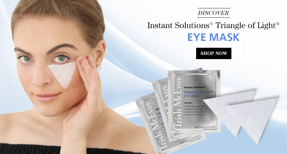 SHOP NOW, Instant Solutions® Triangle of Light® Eye Mask