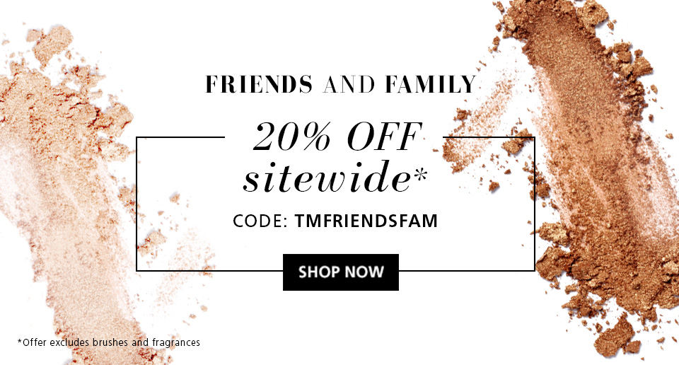 20% OFF Sitewide, exclusions apply