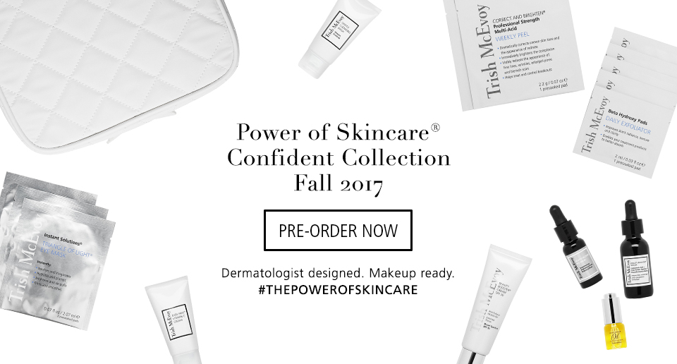 Pre-Order Now: Confident Skincare Collection