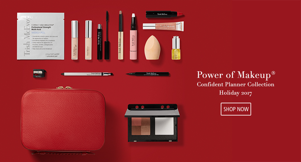SHOP NOW Power of Makeup® Confident Planner Collection Holiday 2017