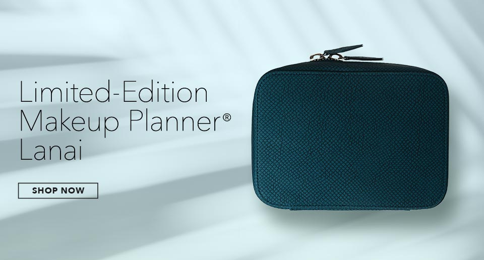 SHOP NOW Online Exclusive Limited-Edition Makeup Planner(R) Lanai